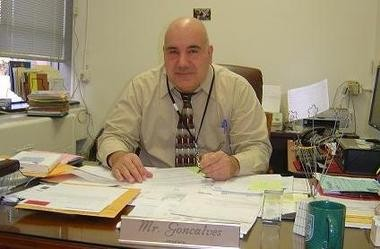 Bloomfield Middle School Principal Salvatore Goncalves was tapped Wednesday as the acting superintendent of the school district in a 5-3 vote.