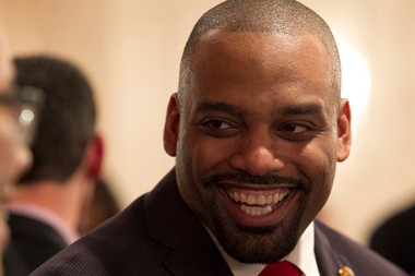 Eldridge Hawkins Jr., 34, lives in West Orange but from roughly 2005 to 2012 he lived in Orange and was the mayor for the last four years. Now he's back in his hometown and probing a run for West Orange mayor.