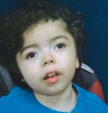 Jadiel Velesquez, 4, suffered brain damage after his father beat him when he was four months old.