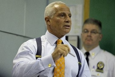Irvington Police Director Joseph Santiago, seen here in a file photo, sent an 18-page report to the Essex County Prosecutor's Office that blames actions taken by the town's council and police chief for a major spike in crime last year. Homicides nearly doubled in Irvington last year.
