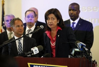 Acting Essex County Prosecutor Carolyn Murray is pursuing official misconduct charges against two Bloomfield police officers.