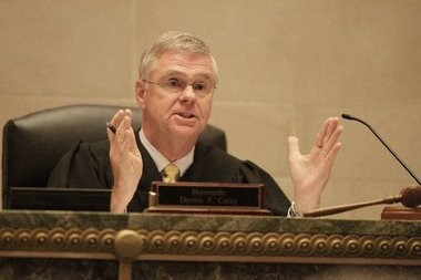 Judge Dennis Carey III, pictured in this June 2012 photo, today denied Newark's bid to vacate his March 11 ruling directing the city to continue funding the shutdown of the Newark Watershed Conservation and Development Corp.