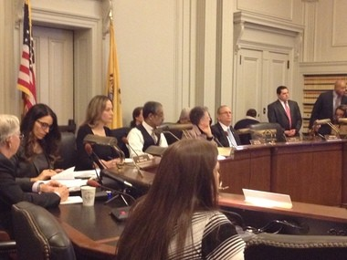 Members of the joint committee on public schools grilled Newark Schools superintendent Cami Anderson over the district's controversial reform plan. (Naomi Nix | NJ Advance Media)