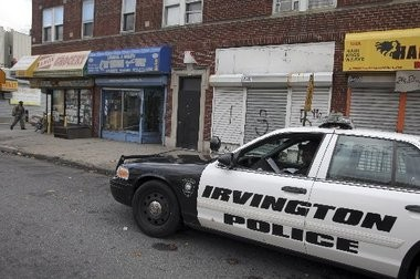 Authorities are investigating the first homicide of 2015 in Irvington after a Newark man shot there on Friday succumbed to his injuries.