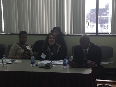 Newark mayor Ras Baraka hosted an immigration roundtable at Essex County Community College to reiterate his call for expanding the rights of undocumented immigrants. (Naomi Nix | NJ Advance Media for NJ.com)
