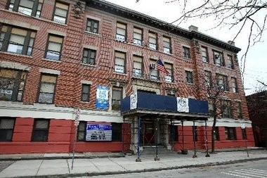 The former Burnet Street School in Newark, one of 12 properties the city's school district will transfer to the Newark Housing Authority. (Saed Hindash/The Star-Ledger)