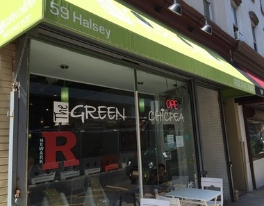 The Freetown Cafe was welcomed by the owner of the Green Chicpea, a kosher restaurant that is part of a burgeoning restaurant row on Halsey Street.