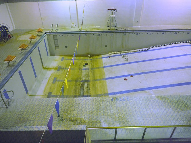 The pool at the YWCA building purchased by the city last year. (Patti Sapone | NJ Advance Media for NJ.com)
