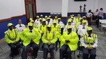 Newark Mayor Ras Baraka welcomes 28 new crossing guards on Tuesday. (Newark Police Department)