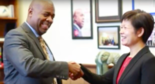 Mayor Ras Baraka released a video this month touting the city of Newark and inviting Chinese investors. (Screenshot of City of Newark video)