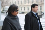 Linda Watkins-Brashear, the former director of the Newark Watershed Conservation and Development Corp. leaves U.S. District Court in Newark on Dec. 21, 2015 (Brian Donohue | NJ Advance Media for NJ.com)