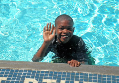 On Monday, Newark officials will reopen the John F. Kennedy Aquatic Center following a rehabilitation project. Kawon McGill, who was 7 at the time, is seen here in a 2010 Star-Ledger file photo.