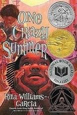 """One Crazy Summer"" by Rita Williams-Garcia"
