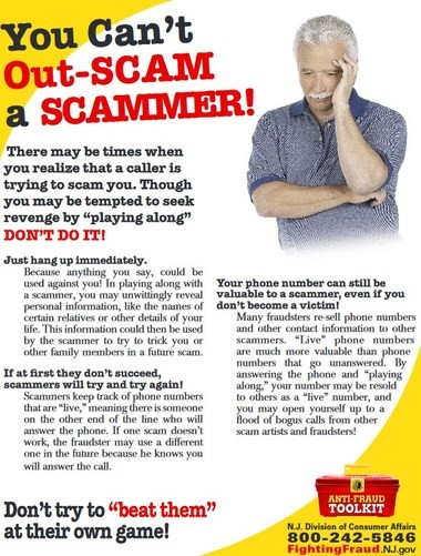 """A screen shot from the Division of Consumer Affairs' """"Anti-Fraud Toolkit."""""""