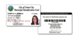 A sample of the Union City municipal ID card. (Union City)
