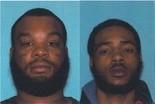Hutson and Robinson. (Courtesy Newark Police)