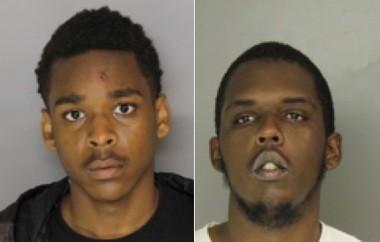 Calvin Henry, 18, of Daijuan Cato, 21, both of Newark. (Courtesy of Newark police)