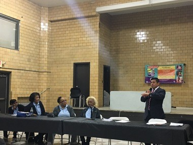 The Newark Housing Authority hosted a meeting at Terrell Homes last week to discuss a potential redevelopment plan for the aging property. (Karen Yi   NJ Advance Media for NJ.com)