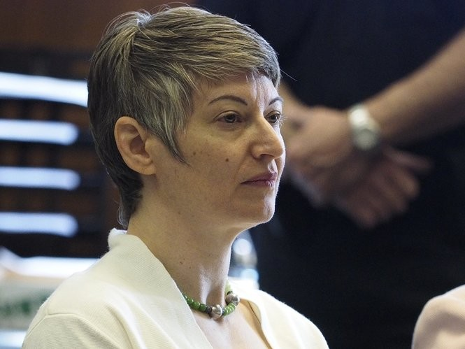 Anna Stubblefield appears in state Superior Court in Essex County on Friday, May 11, 2018. (Patti Sapone | NJ Advance Media for NJ.com)