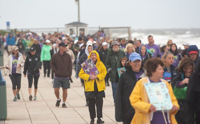 Stephy's Place, a support center for grief and loss in Red Bank, held a mourning walk with others to remember those they have lost and loved. Event was held at Seven Presidents Park in Long Branch on Sunday, September 9, 2018.