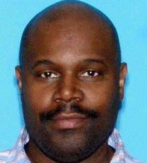Byron Stokely, of Irvington, is being sought by police for allegedly pouring a mixture of water and hot oil on his ex-wife on March 29, officials said.