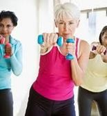 The Baby Boomer generation is blasting their way into fitness routines ranging from non-impact aerobics to triathlon training, and everything in between