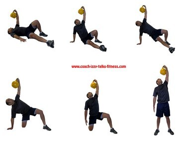 The Turkish Get Up with Kettlebell is great as both a warm-up exercise and one that highlights areas of weakness