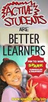 Although SPARK activities are extremely enjoyable for students, they are vigorous physical activities designed to improve the health and fitness of children.