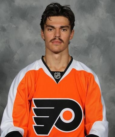 2012 Flyers draft pick Fredric Larsson needs to gain a lot of weight, but he's had trouble staying at 175 due to food allergies.