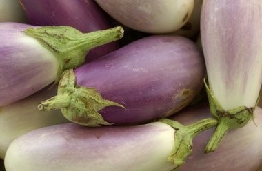Eggplants come is a variety of hues and shapes.