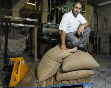Joseph Fernandes is a partner in Counting Sheep Coffee, which is made at his family production facility in Newark.