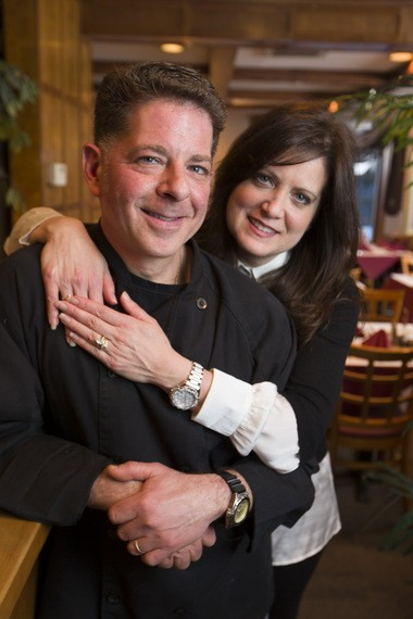 Chef/owner Giovanni Giornalista and his wife, hostess Theresa Giornalista.