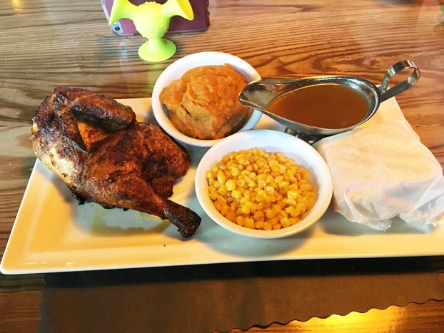 Comfort food like rotisserie chicken is the name of the game at Belmar's Anchor Tavern, which opened in May.