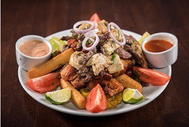 Arena, the latest addition to the West End of Long Branch's culinary scene, serves up a delectable Picada.