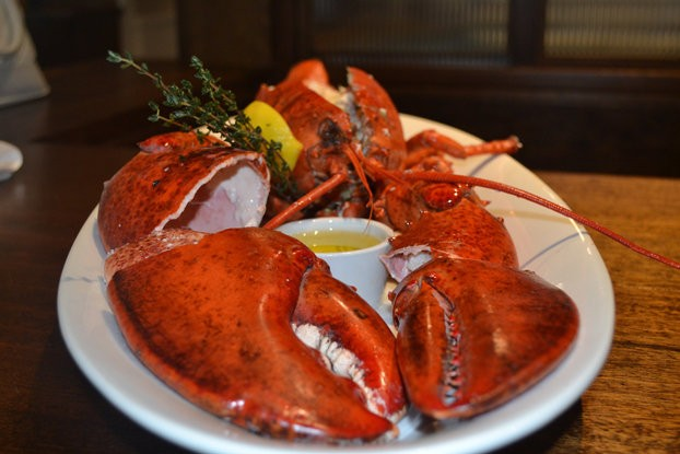 This 4-pound lobster is surprisingly not the biggest lobster Atlantic City's famed seafood house, Dock's Oyster House serves up.