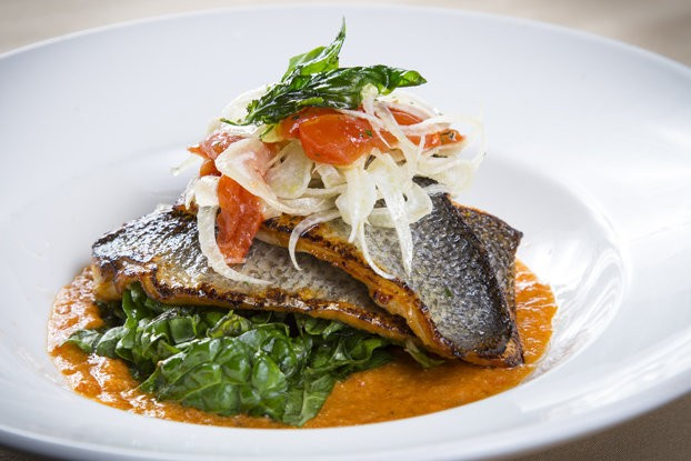 The Fileto di Branzino is another new menu item that The Golden Nugget's Northeastern Italian restaurant, Grotto, has added to the menu.
