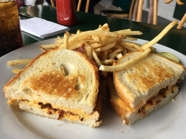 At the historic Parker House in Sea Girt, you can order up a grilled cheese or a slider for lunch, or opt for a fine lobster or steak for dinner.