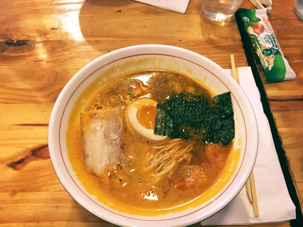 Tucked away in the court district of New Brunswick, Ramen Naomi serves up excellent dishes like the spicy Miso Crab Ramen.