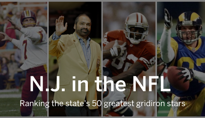ef08d3dd Who are the 50 greatest NFL players from New Jersey? - nj.com