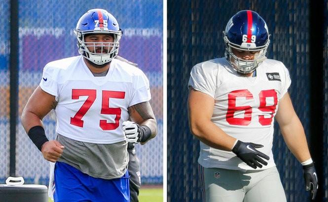 best website 04b78 145fa Inside Giants' position battle for starting center job ...