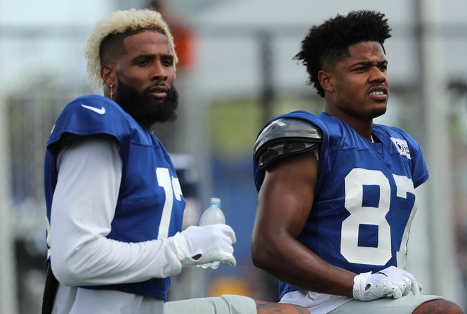 huge discount 9d335 06bb1 Here's what candid Giants WRs say about team's surprising ...