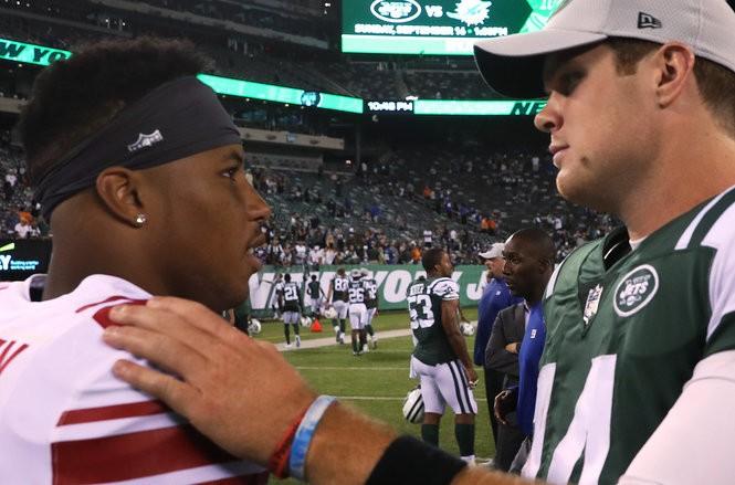 NFL predictions: Giants' Saquon Barkley or Jets' Sam Darnold