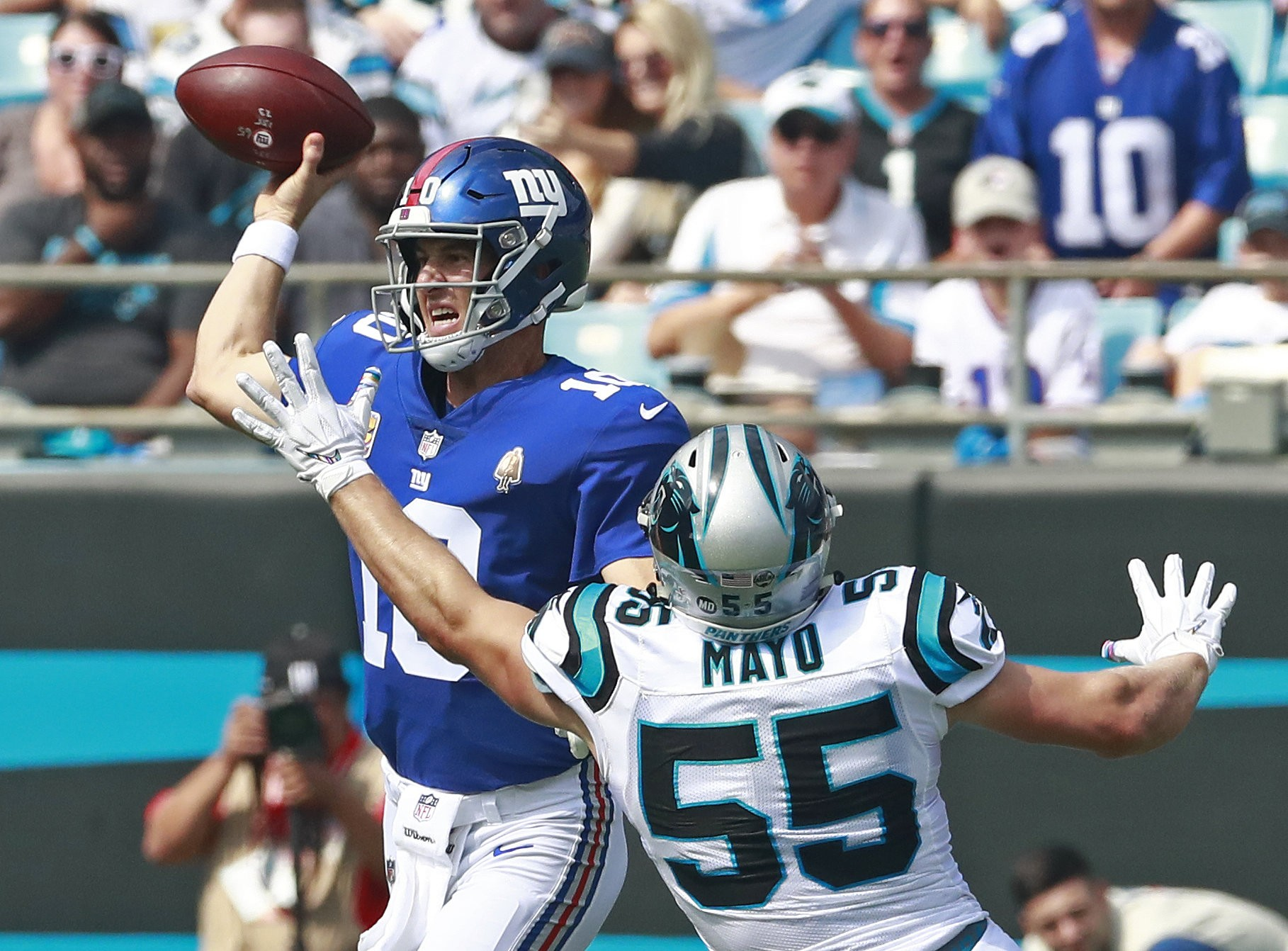 Giants Eli Manning Report Card Qb Is Good And Bad In 33