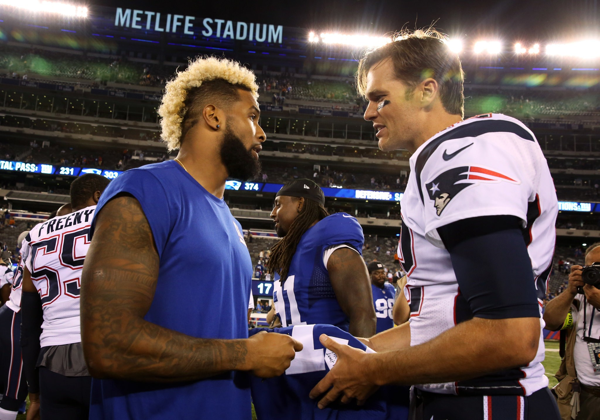 WATCH: Video shows that Giants' Odell Beckham is just like Pariots' Tom  Brady - nj.com
