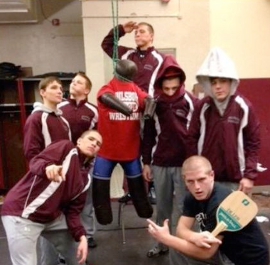 Paulsboro wrestling photo controversy involving Phillipsburg High School students, shown here. (file photo)