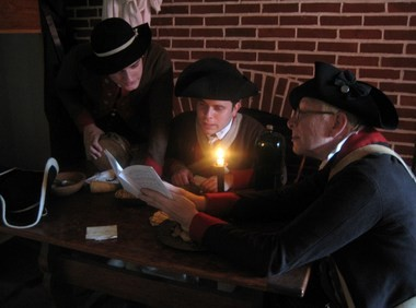 Revolutionary War reenactors will recreate the Continental Army's overnight march from Trenton to Princeton on Jan. 2 to Jan. 3 as part of a living history event tied to the Old Barracks Museum in Trenton and Trenton's Patriot Week Celebration. (Photos provided by the Old Barracks Museum)