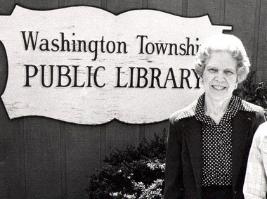Margaret E. Heggan, who spent countless hours volunteering at the Washington Township Library, later became the namesake of the building. (Photo provided)