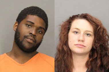 Antonio Hedgepeth II, 23, and Jessica M. Ayers, 20, both of Williamstown, where arrested on drug and child endangerment charges. (Salem County Correctional Facility)