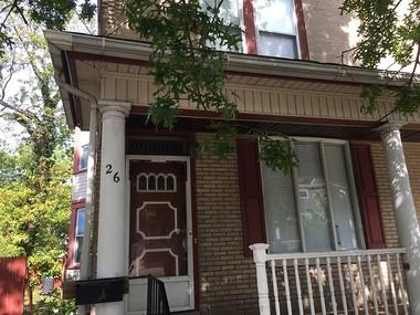 Shawneeq Carter was killed Saturday while house-sitting at 26 Hopkins Street in Woodbury, police said. (Matt Gray   For NJ.com)
