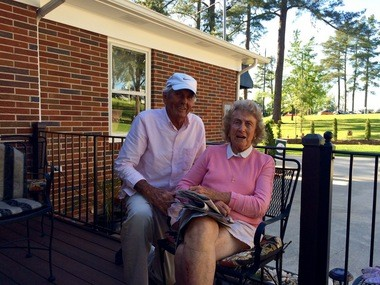 Herman and Elizabeth Thacker won't sell their modest home to Augusta National, no matter how much they offer.
